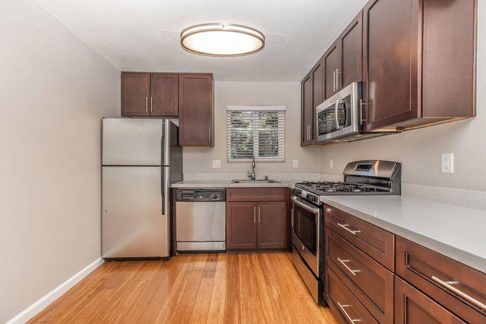Kitchen at ParkLafayettein Lafayette CA