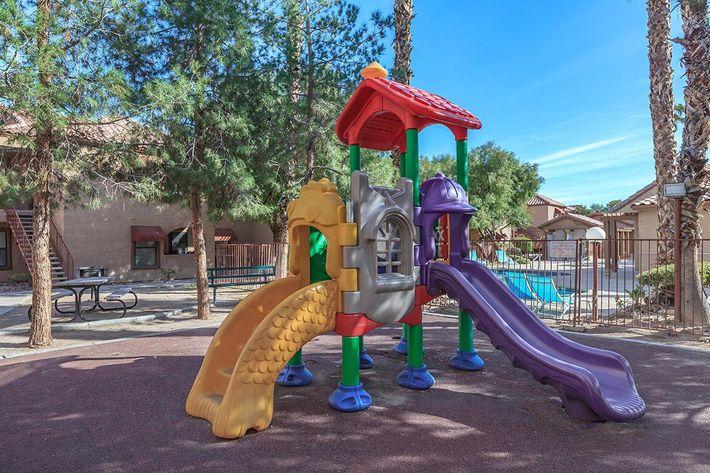 Villa Del Rio has a playground