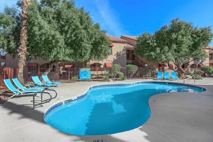 Villa Del Rio has a beautiful pool