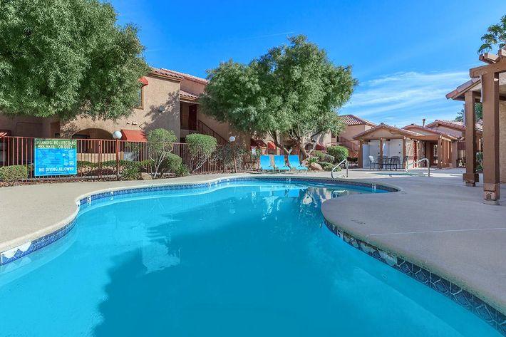 Pool area at Villa Del Rio