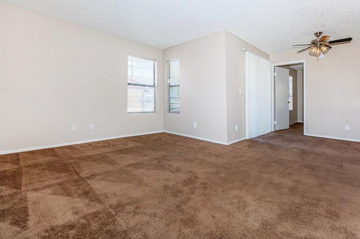 Two bedroom floor plan at Villa Del Rio