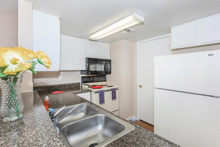 Villa Del Rio features fully-equipped kitchens