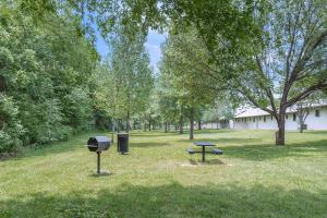 Picnic Area With Barbecue Grills