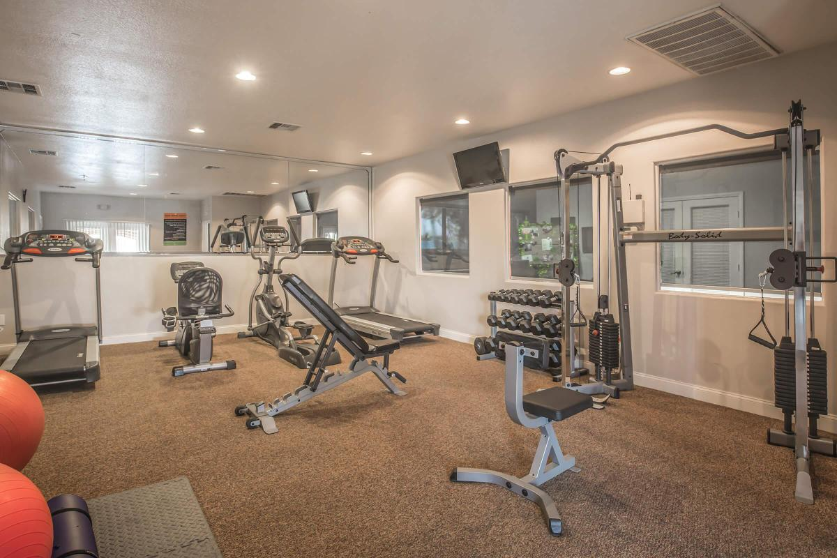 Feel the Burn at the Fitness Center here at Siena Townhomes