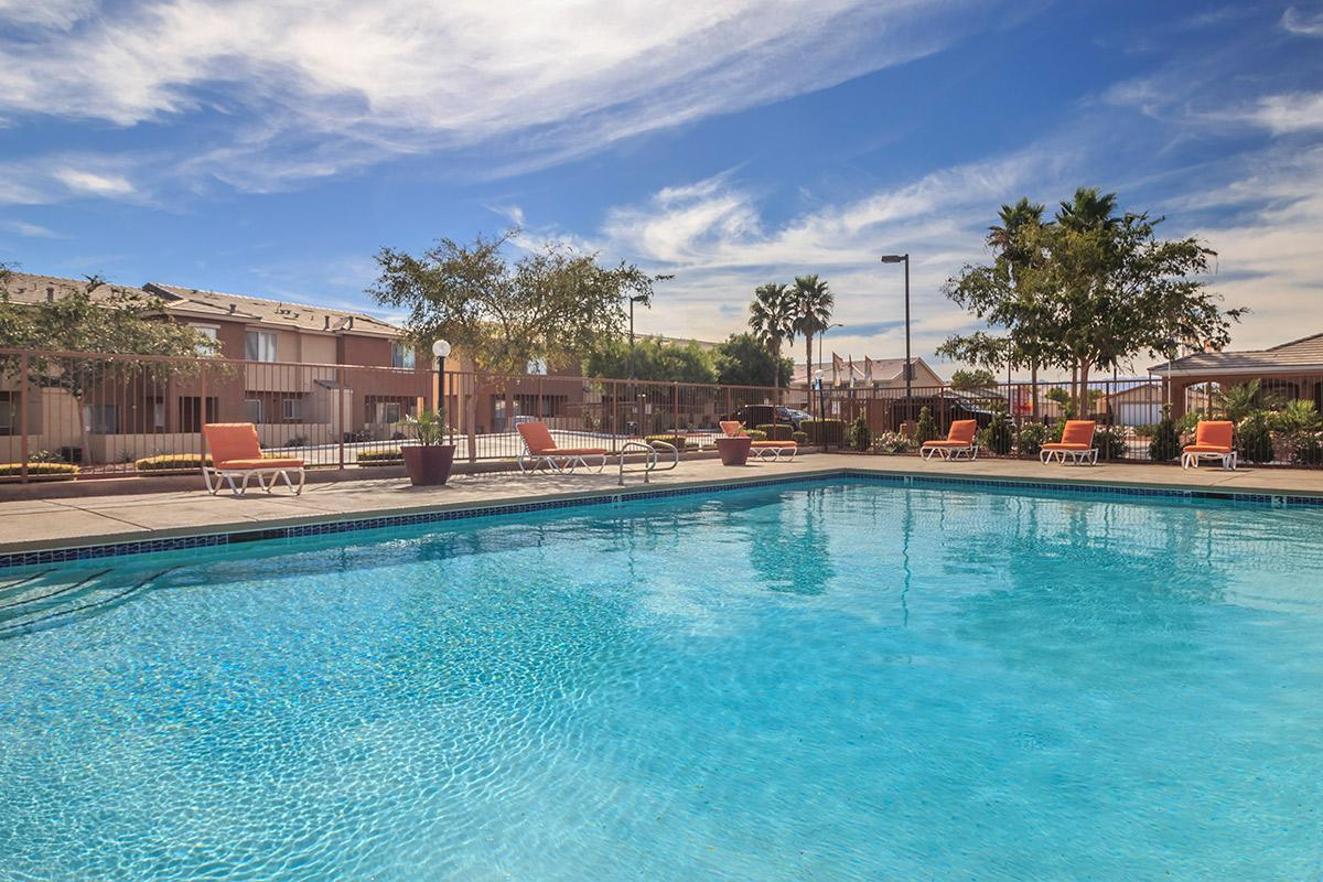 Relax Poolside at Siena Townhomes in Las Vegas, Nevada