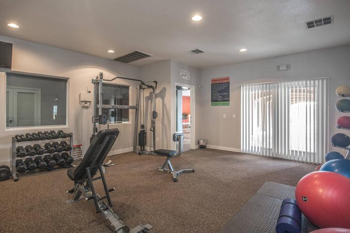 Stay in shape with our fitness center here at Siena Townhomes in Las Vegas, Nevada