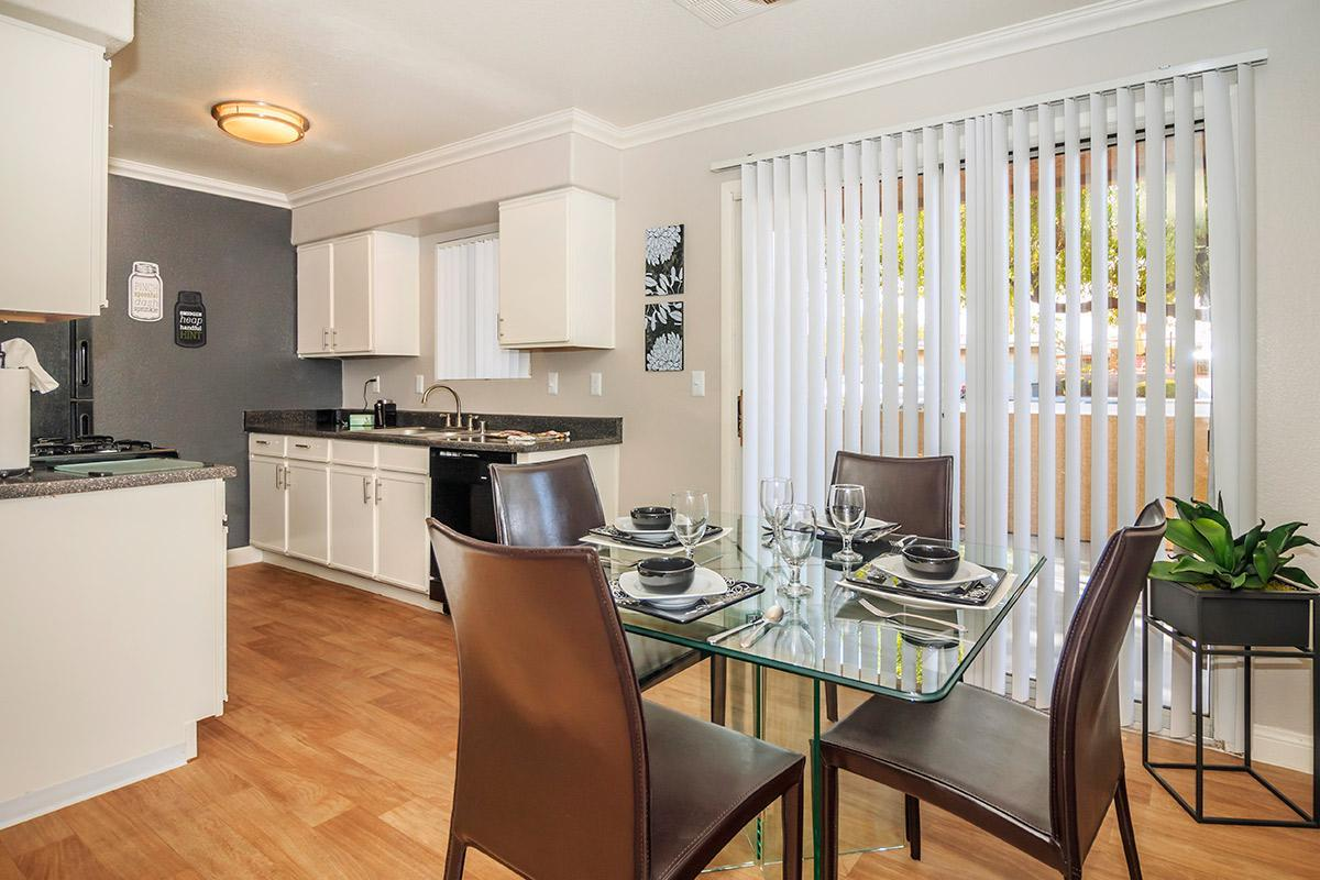 DINING AREA AT SIENA TOWNHOMES IN LAS VEGAS