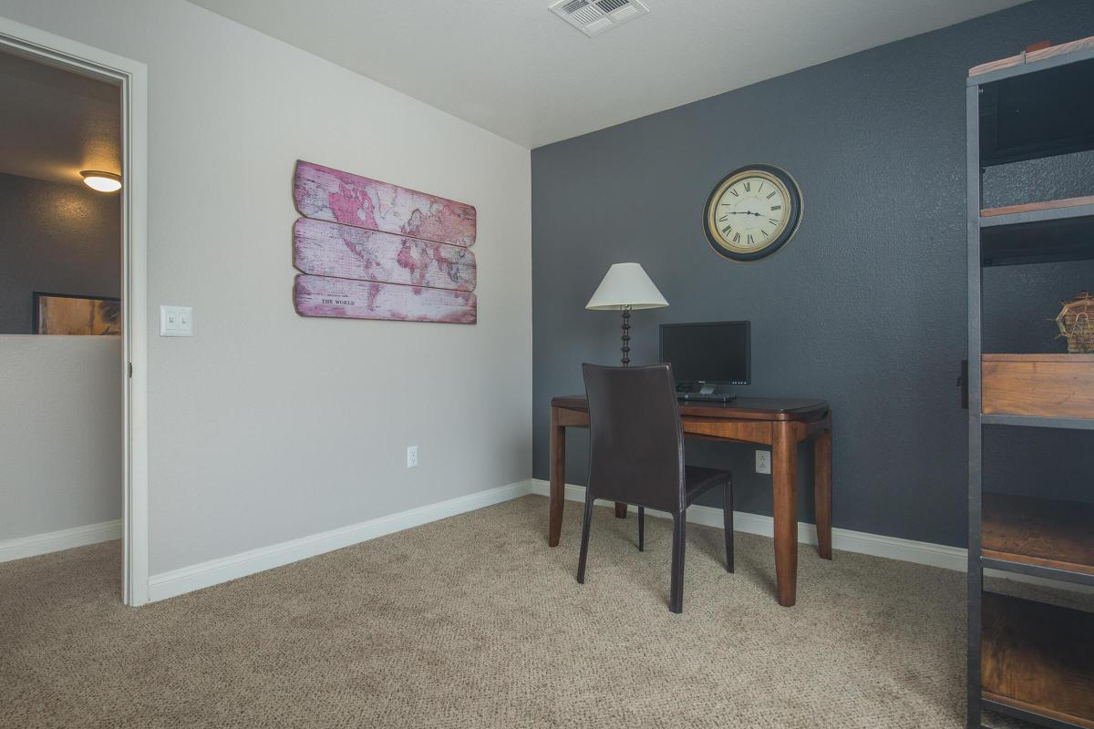 Plenty of space here at Siena Townhomes in Las Vegas, Nevada