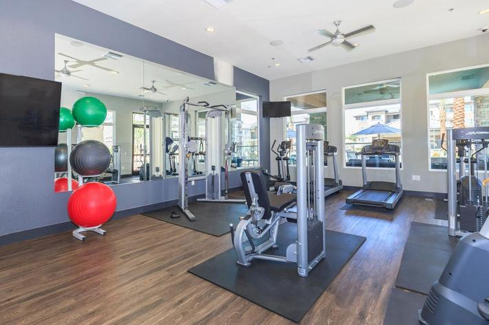 24-Hour State-of-the-Art Fitness Center at Level 25 at Durango