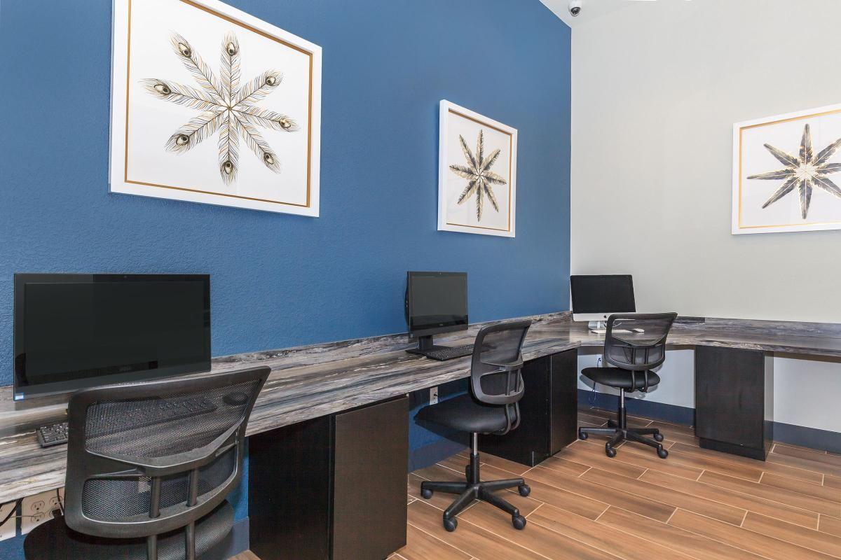 Business Center at Level 25 at Durango in Las Vegas, NV