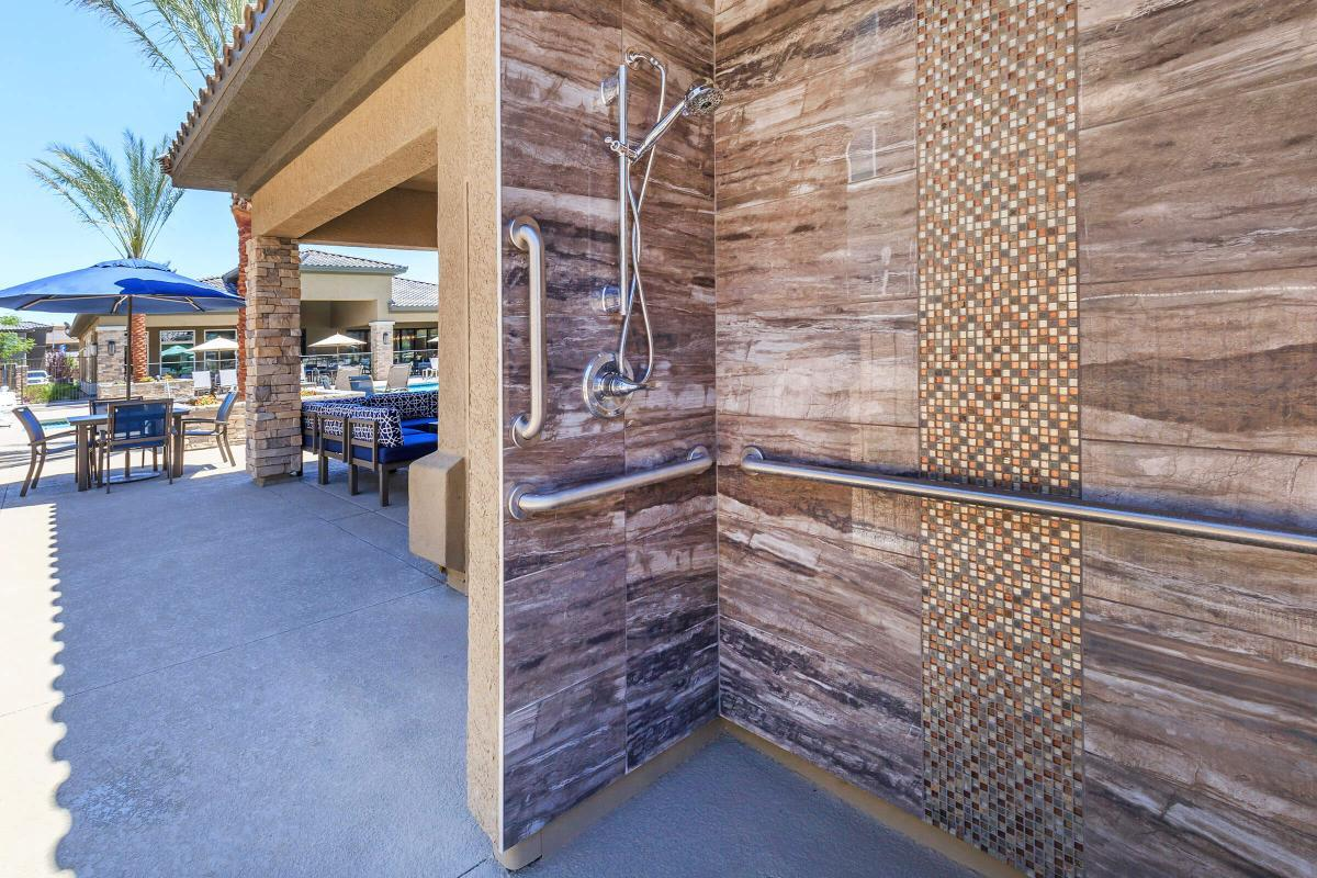 Outdoor Shower at Level 25 at Durango