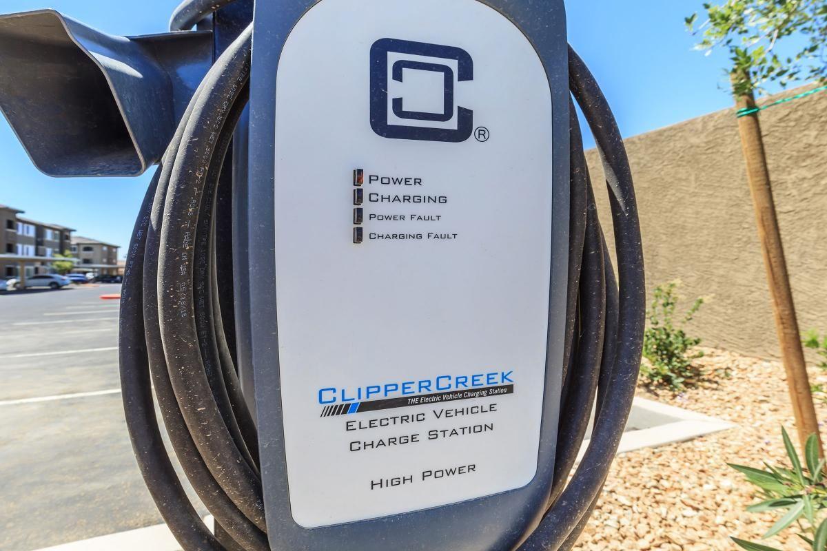 Electric Car Charging at Level 25 at Durango