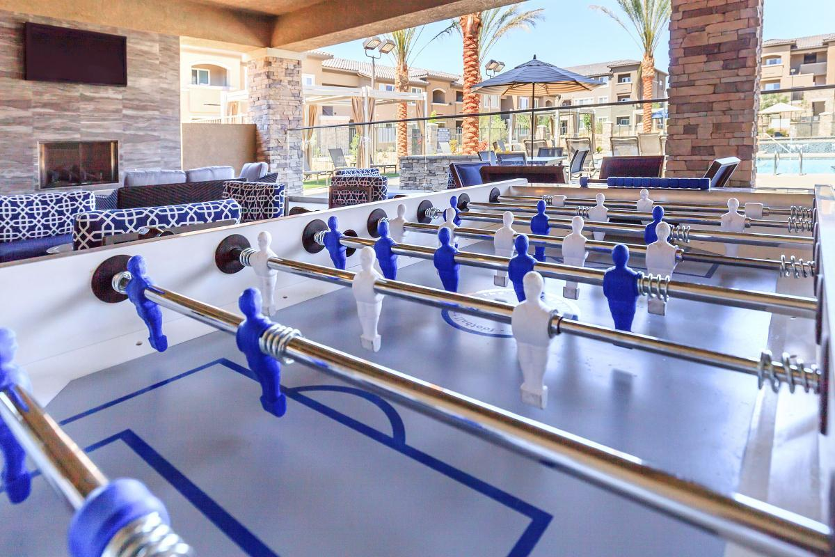 Enjoy Our Game Room at Level 25 at Durango in Las Vegas, NV