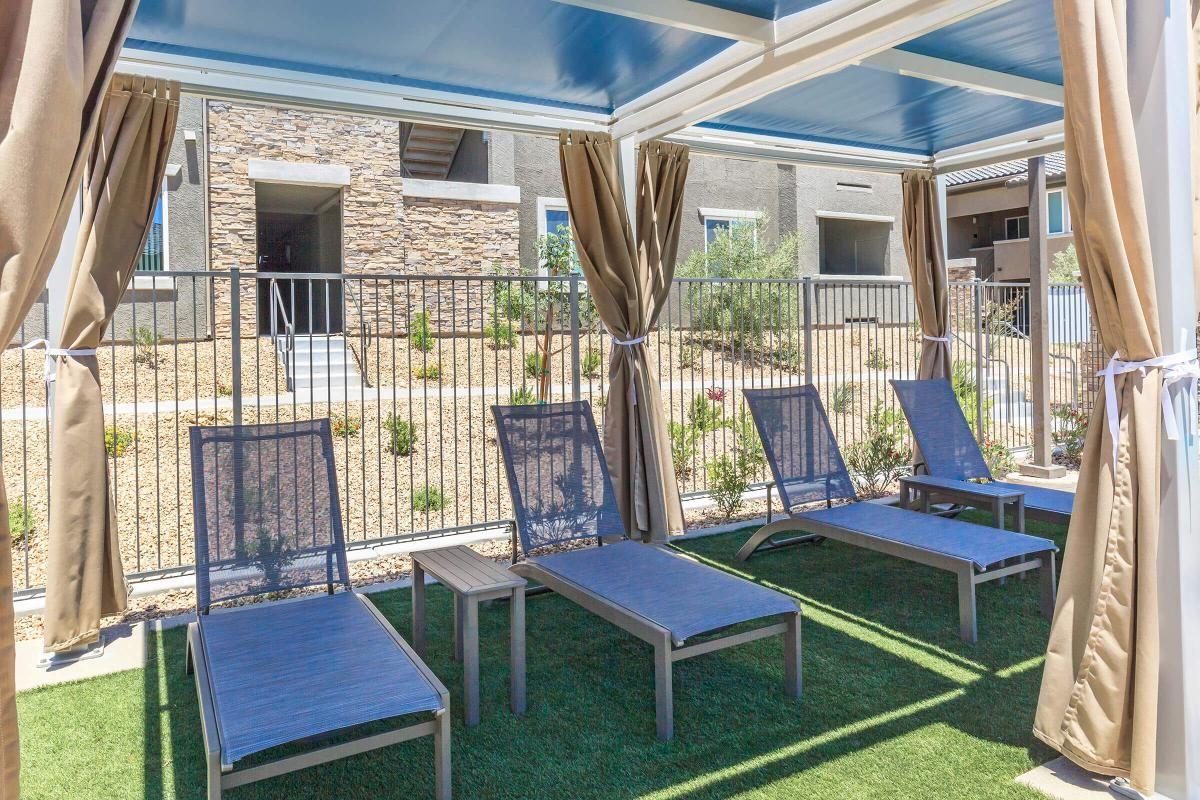 Lounge Pool Side at Level 25 at Durango