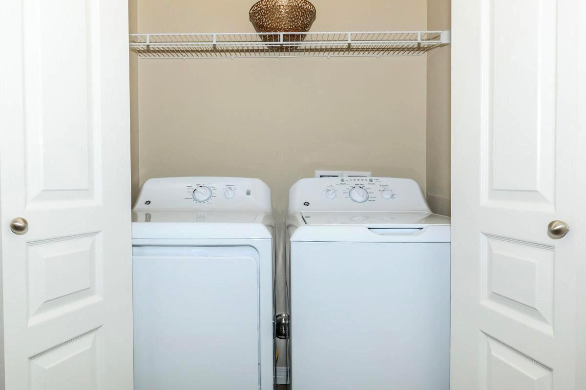 Full Sized Washer and Dryer Included