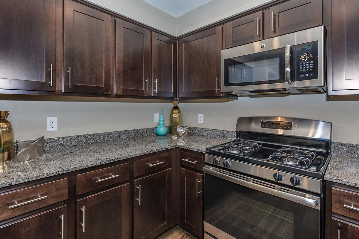 Fully Equipped Kitchen at Level 25 at Durango in Las Vegas, NV
