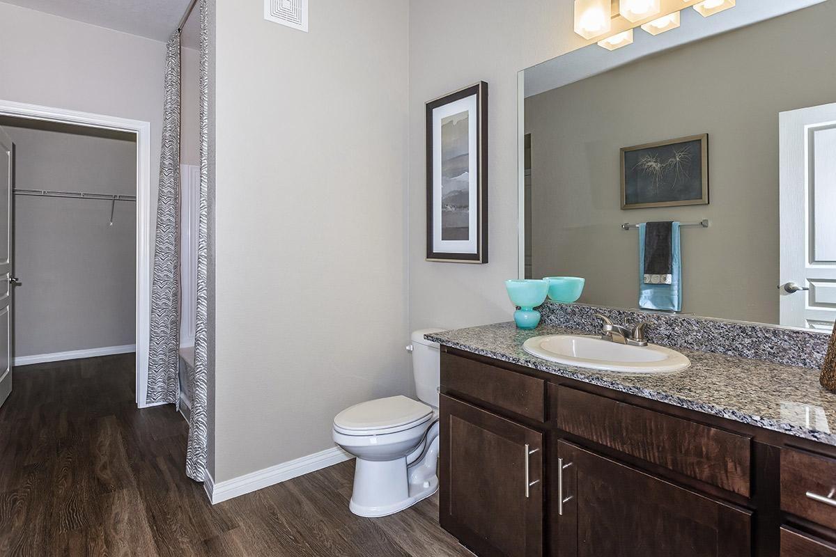 Modern Bathroom at Level 25 at Durango in Las Vegas, NV