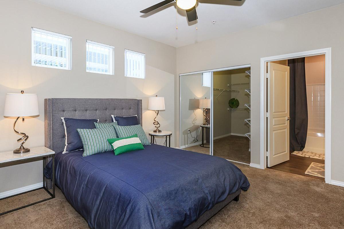 Spacious Bedroom at Level 25 at Durango in Las Vegas, NV