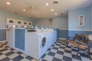 Time-saving laundry facility at Nottingham apartments