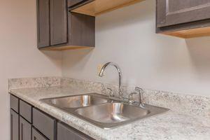 Captivating kitchen at Nottingham apartment