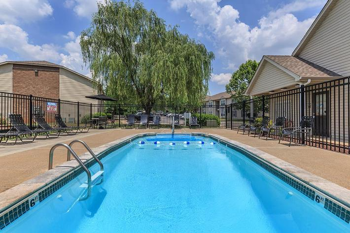 The Swimming Pool at Green Meadow Apartments