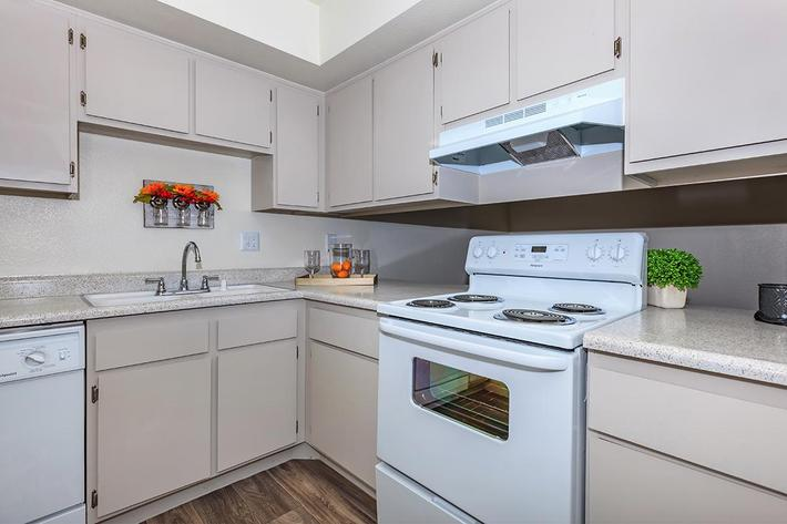 PLENTY OF CABINET SPACE AT CASCADE APARTMENTS IN HENDERSON, NEVADA