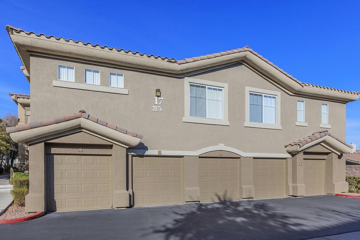 Garages Available at The Covington at Coronado Ranch Apartments in Las Vegas, Nevada