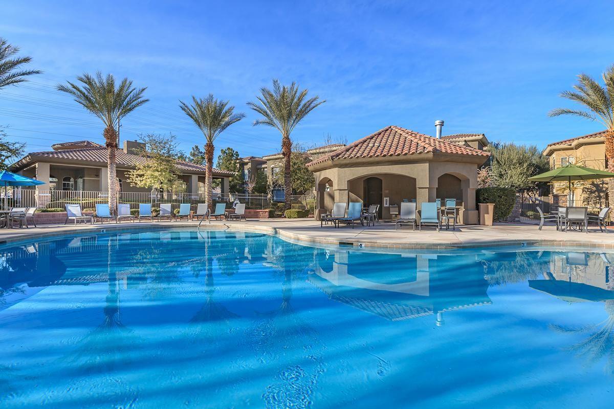 Sparkling Swimming Pool at The Covington at Coronado Ranch Apartments in Las Vegas