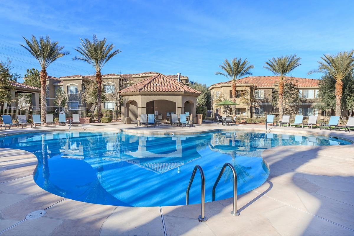Swimming Pool at The Covington at Coronado Ranch Apartments in Las Vegas, Nevada