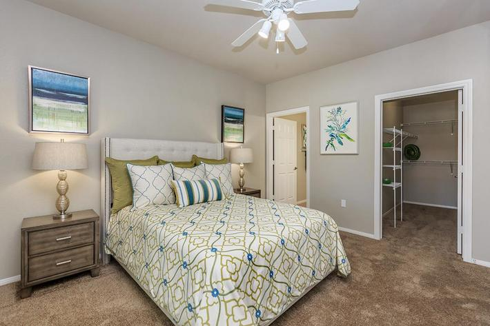 Ceiling Fans and Carpeted Floors