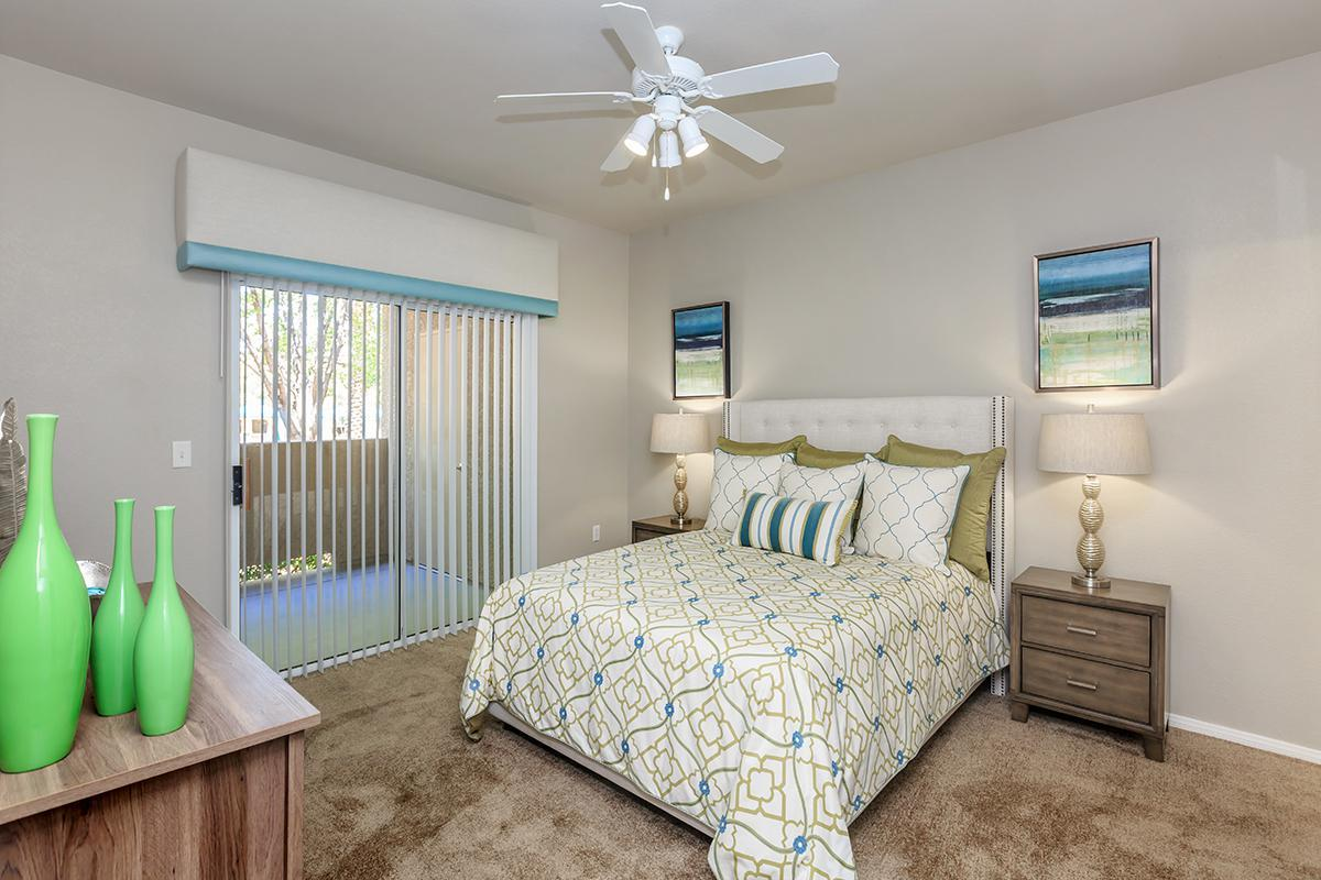 Ceiling Fans and Carpeted Floors in Homes at The Covington at Coronado Ranch Apartments in Las Vegas, Nevada