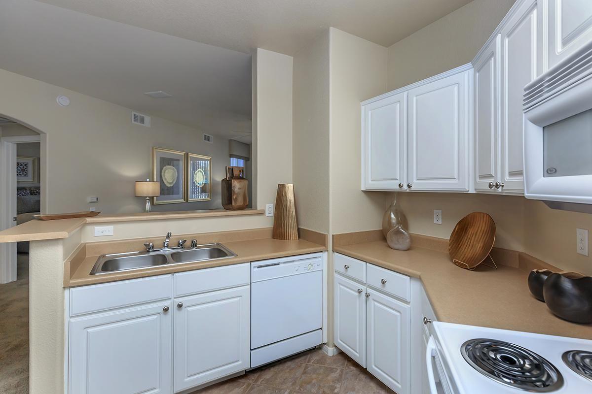 All-electric Kitchens in Homes at The Covington at Coronado Ranch Apartments