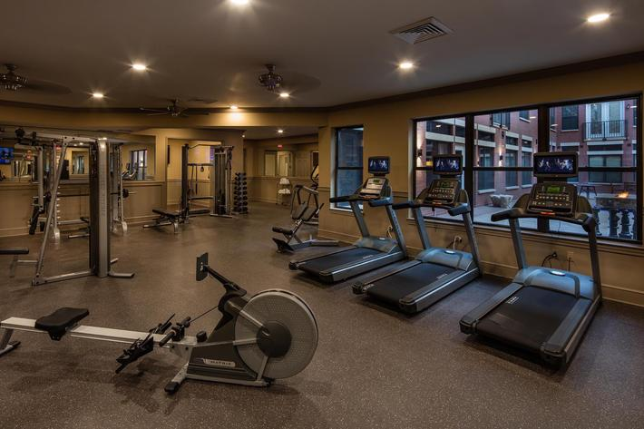 The Orion Apartments in Central West End - St. Louis, MO - Fitness Center 10.jpg