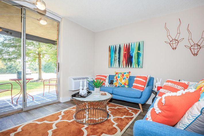 Living Room at Crestridge