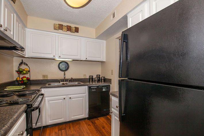 Plenty of kitchen cabinet space