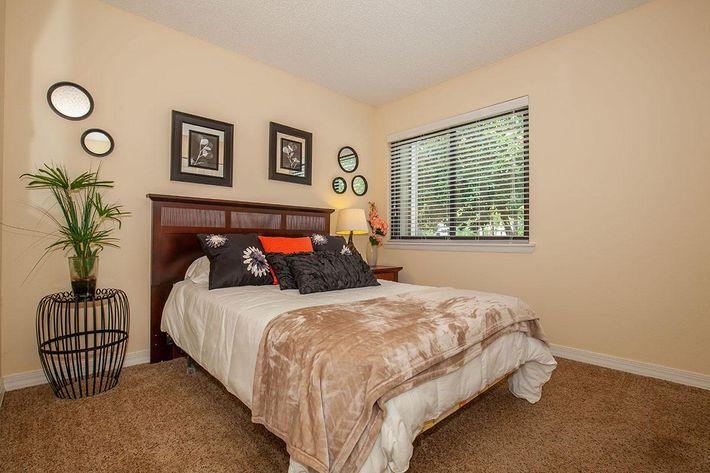Unique bedroom layout
