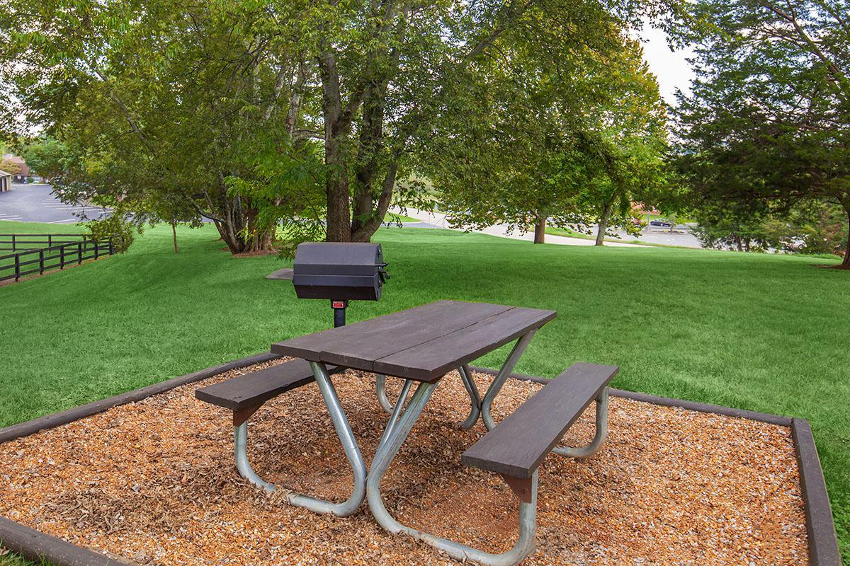 Brendon Park Apartments Community Barbecue Area in Knoxville, TN