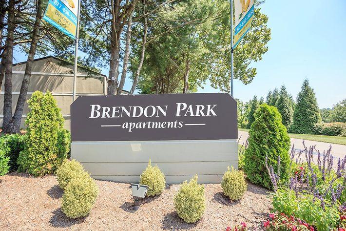 Brendon Park Monument Sign