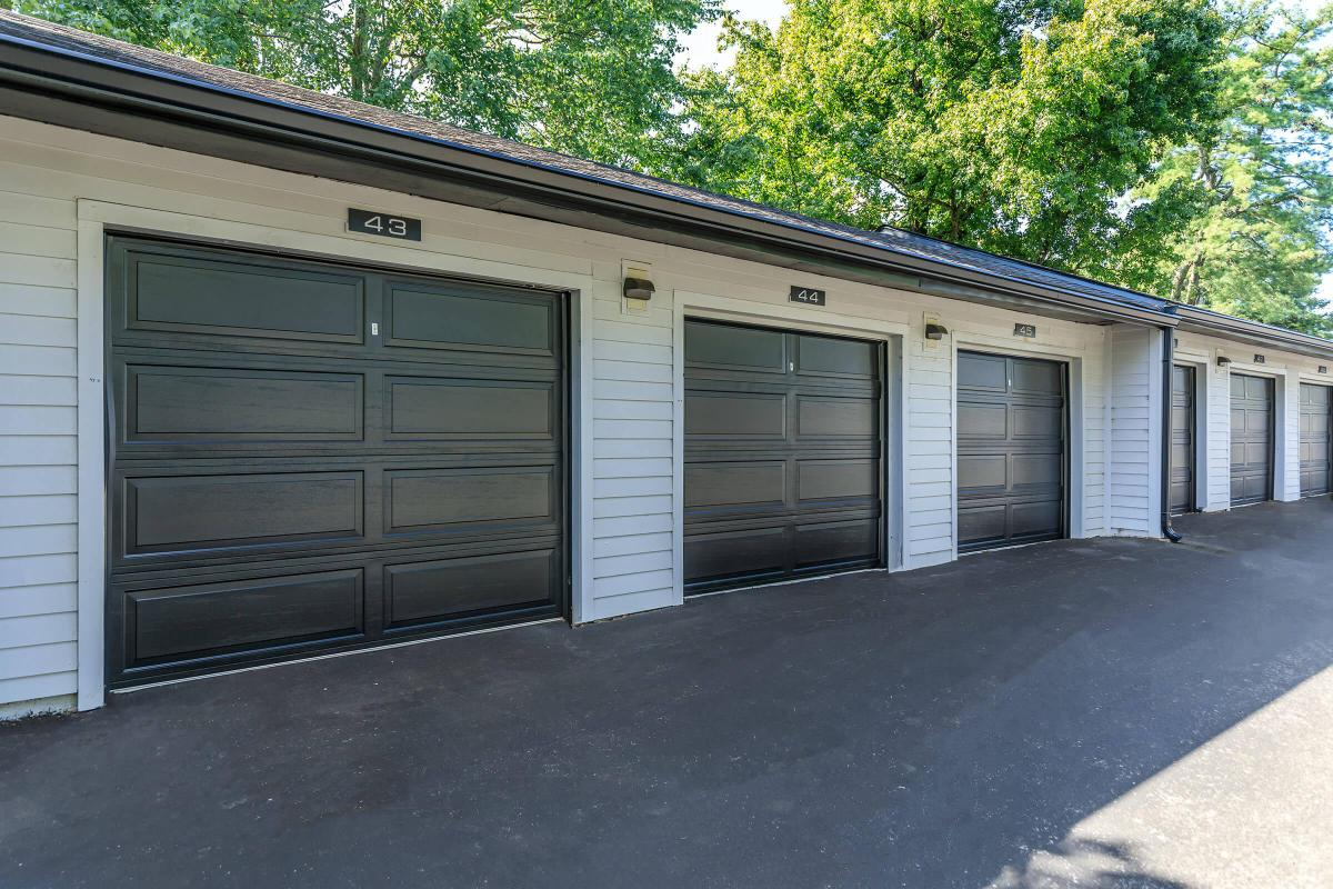 Garage Parking at Brendon Park Apartments