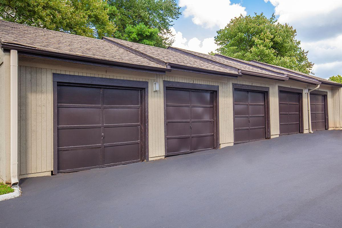 Garages Available