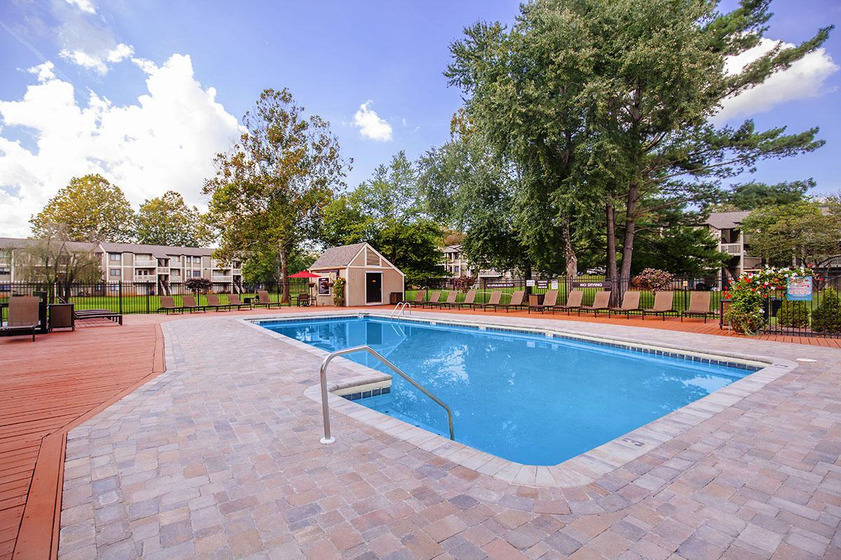 Resort-style swimming pool in Knoxville, Tennessee