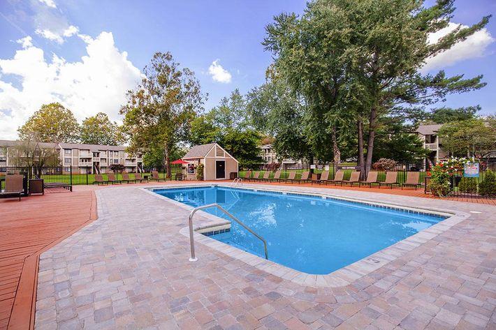 Make a Splash in our shimmering pool