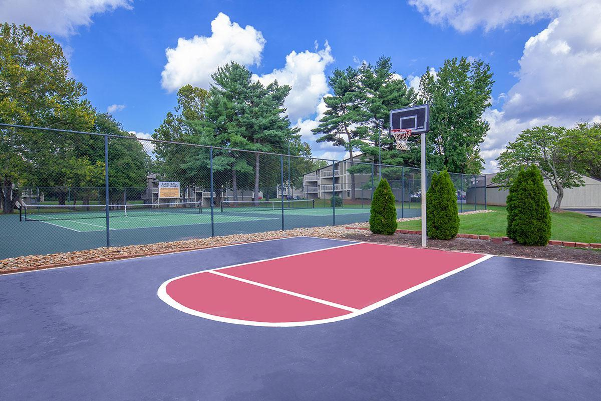On-site Basketball Court at Brendon Park Apartments