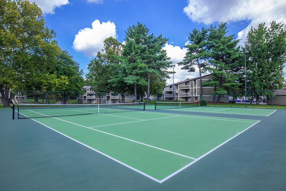 CHALLENGE FRIENDS TO A GAME OF TENNIS