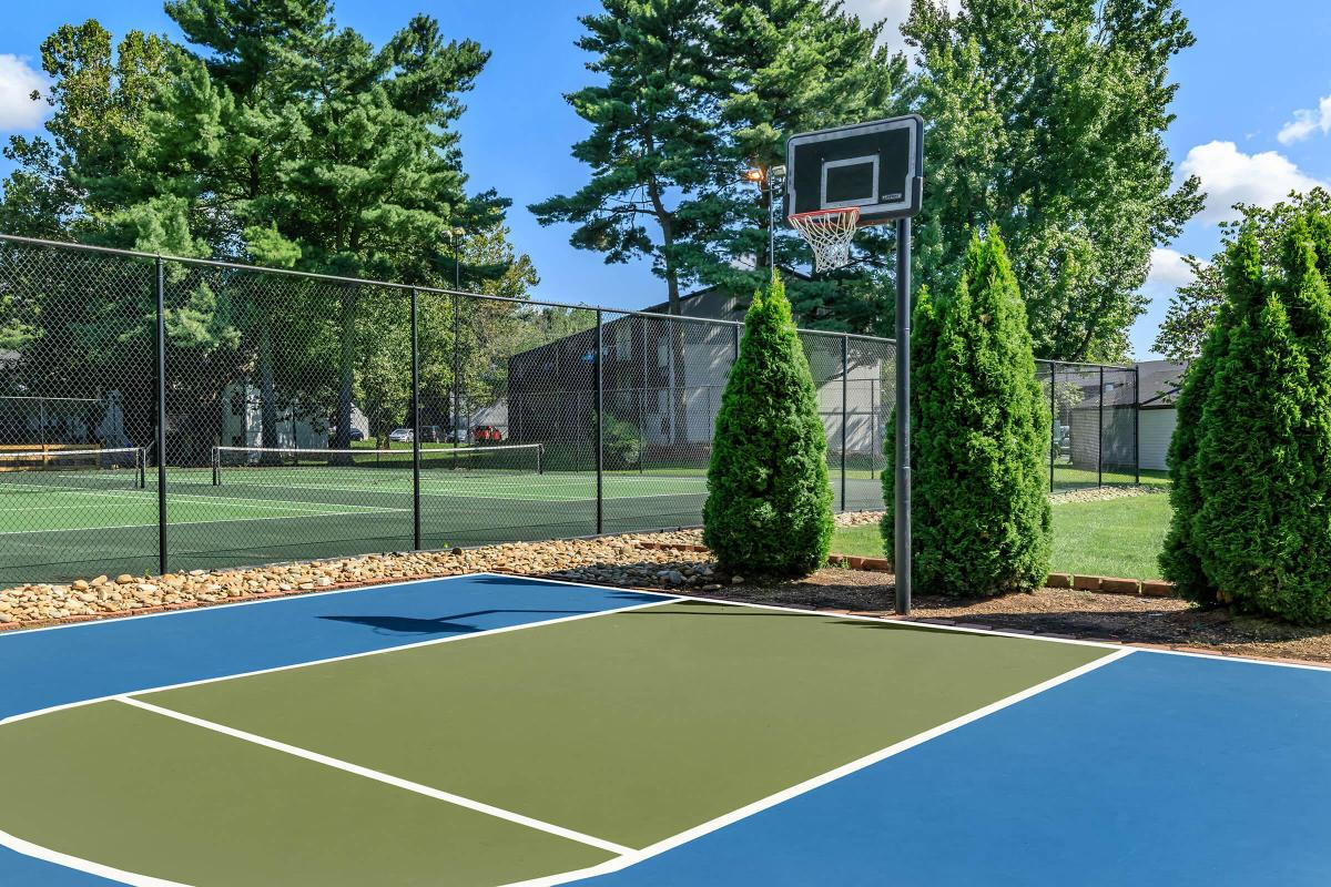 Play A Game or Two of Basketball at Brendon Park Apartments