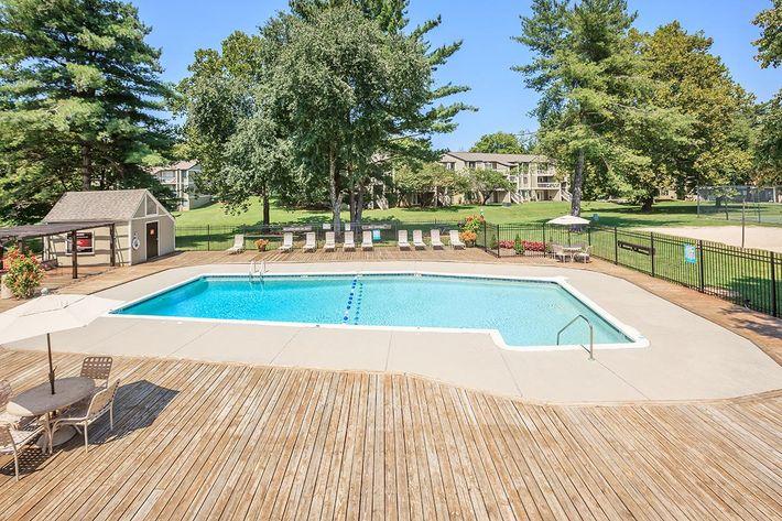 Pool at Brendon Park