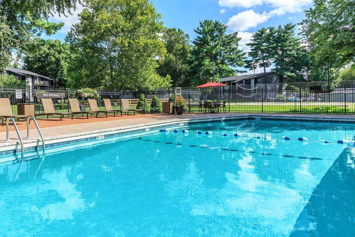 Relaxing in One of our Pools After Long Day is so  Refreshing at Brendon Park Apartments