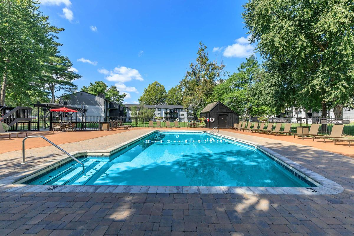 Soak up the Sun by the Shimmering Swimming Pool in Knoxville, TN