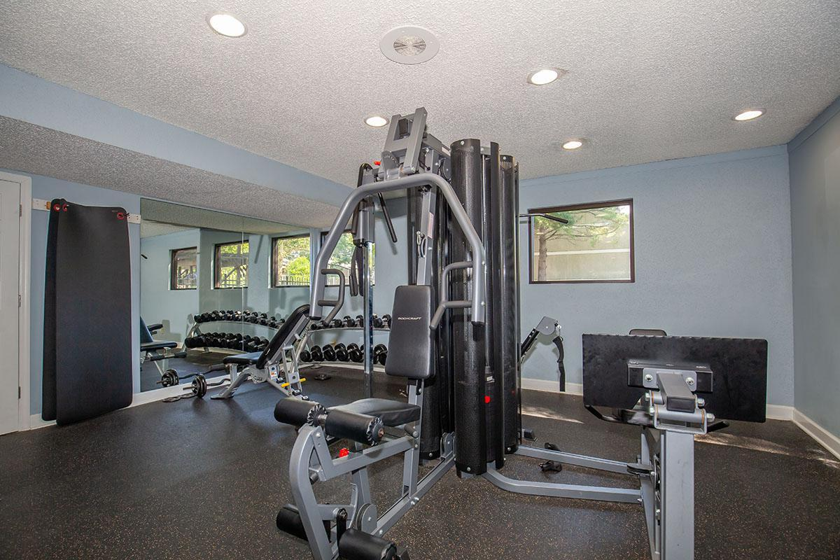 State-of-the-art Fitness Center at Brendon Park Apartments