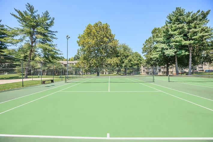 Tennis Courts at Knoxville TN Apartment Homes